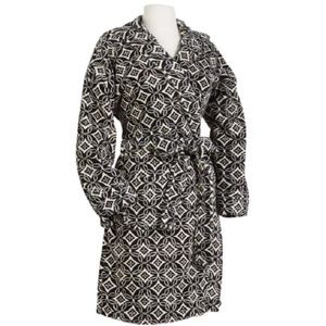 Vera Bradley Concerto Hooded Soft Fleece Robe S/M